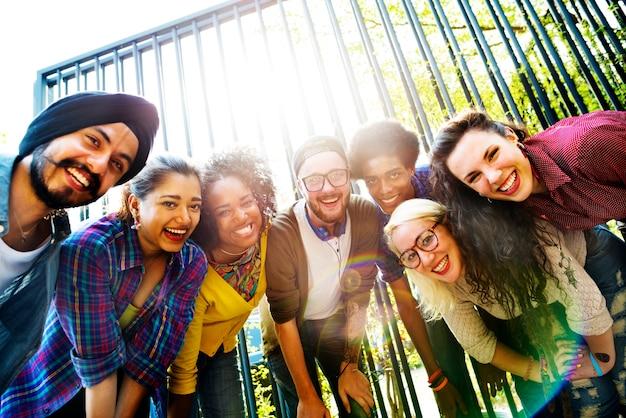 Collaboration communauté amis team togetherness unity concept