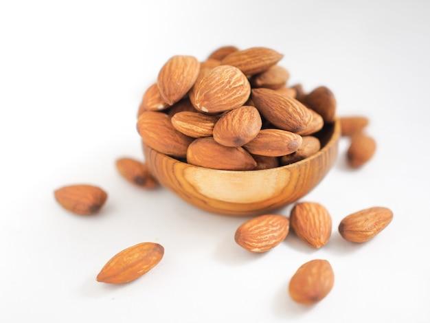 Collation santé organique de noix d'amande