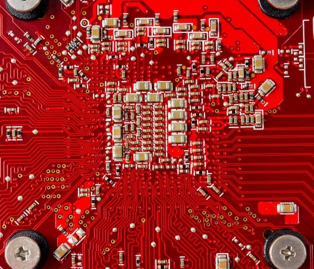 Collecte électronique - composants électroniques sur le pcb