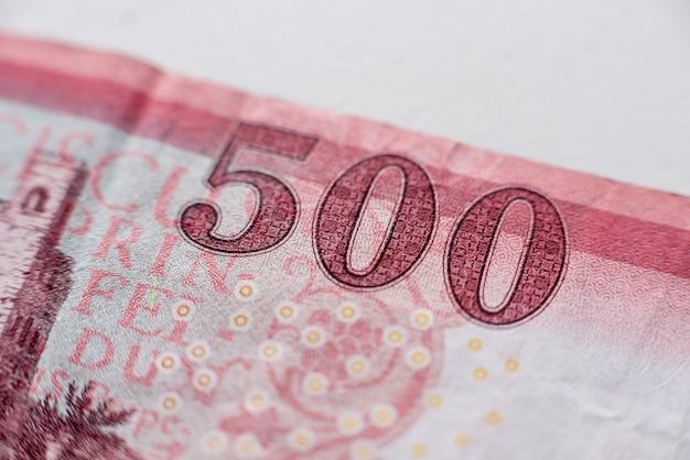 Collection d'argent du monde. fragments d'argent de la hongrie