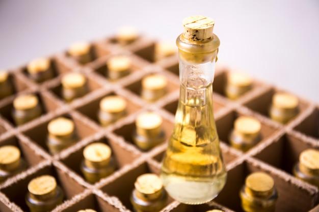 Collection de bouteilles de cognac