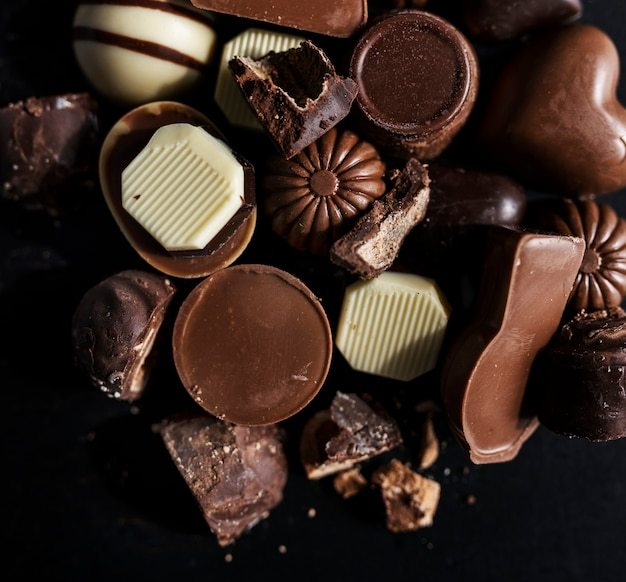 Collection de chocolats