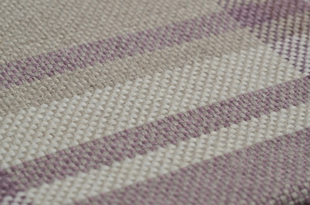 Collection lumineuse d'échantillons de textiles colorés gunny. fond de texture de tissu