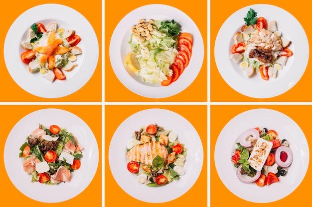 Collection de repas santé
