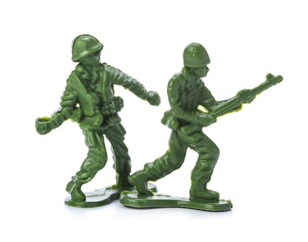 Collection de soldats jouets traditionnels