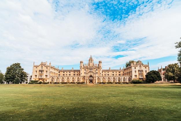 Collège st.john's à cambridge