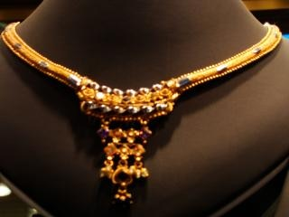 Collier, ornements