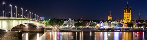 Cologne allemagne panorama