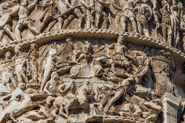 Colonne de marc aurèle à rome