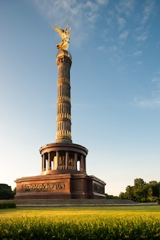 La colonne de la victoire, berlin, allemagne