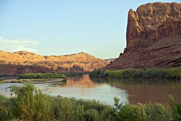 Colorado river in utah
