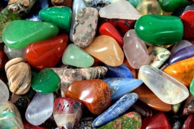 Coloré texture des pierres hdr