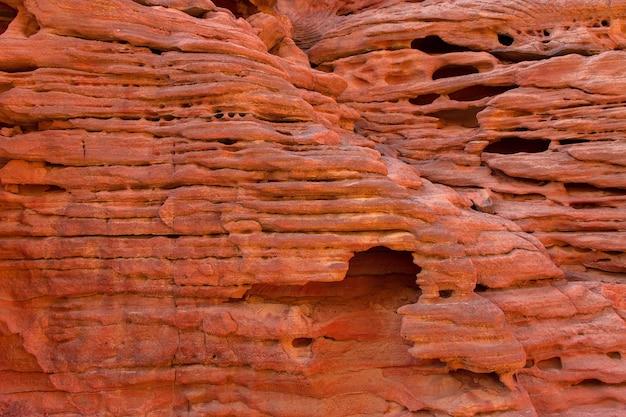 Colored canyon est une formation rocheuse sur la péninsule du sud du sinaï en egypte des roches du désert multicolores