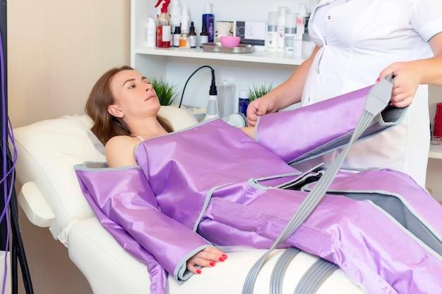 Combinaison de réduction de la cellulite pour pressothérapie