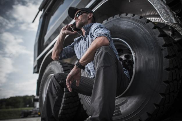 Commande de pièces de camion par chauffeur