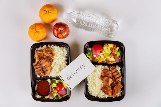 Commandez de la nourriture en ligne ou par téléphone à la maison ou au travail