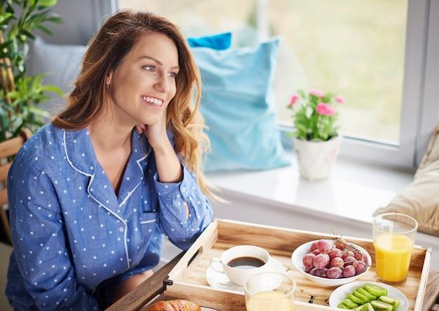 Commencez une nouvelle journée avec une alimentation saine
