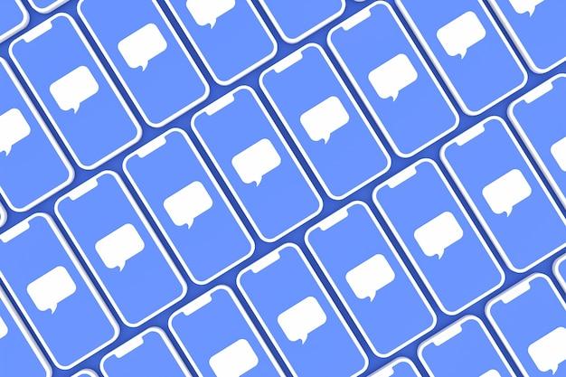 Commentaire rendu 3d des médias sociaux