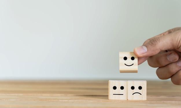 Commentaires sur les évaluations de service des clients