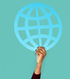 Communauté mondiale monde en réseau international