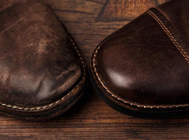 Comparaison de chaussures