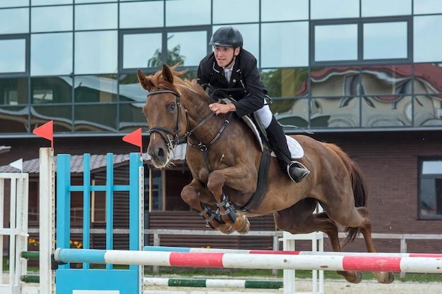 Compétitions de sports équestres de saut à cheval