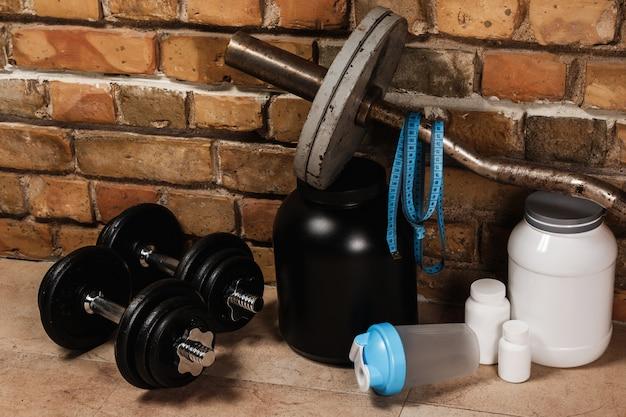 Compléments alimentaires et équipements sportifs