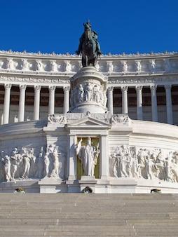 Complesso del vittoriano à rome, italie