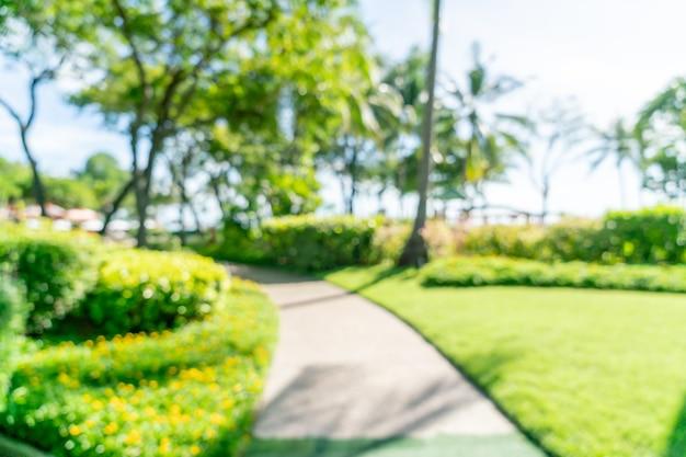 Complexe hôtelier de luxe flou abstrait pour le fond - concept de vacances et de vacances