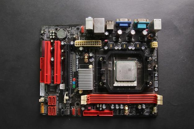 Composants de la carte mère d'ordinateur
