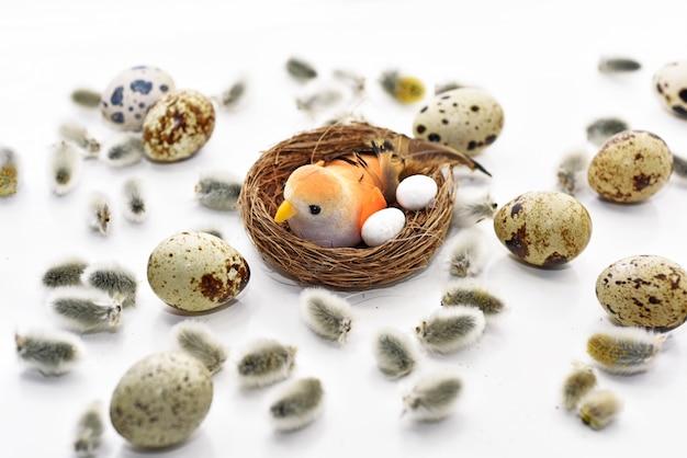 Composition abstraite pour la célébration de pâques.