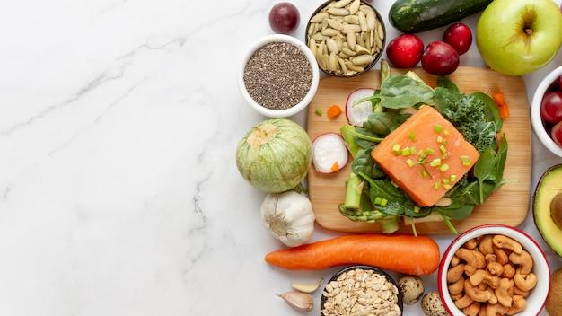 Composition alimentaire de régime flexitarien facile