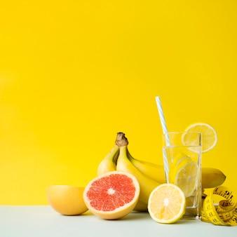 Composition alimentaire saine moderne