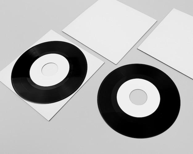 Composition à angle élevé de l'emballage en vinyle