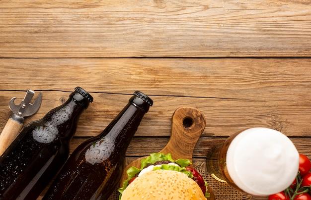 Composition de bière américaine savoureuse