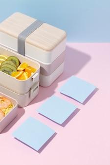 Composition de boîte à bento japonaise