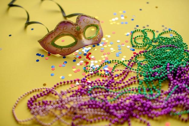 Composition de carnaval ou de mardi gras
