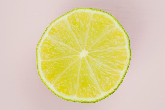 Composition de citron vert savoureux