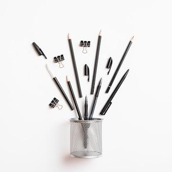 Composition de crayons