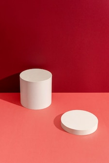 Composition créative de scène minimaliste