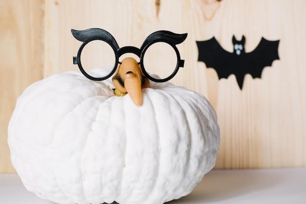 Composition des décorations pour la fête d'halloween