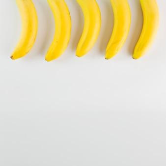 Composition délicieuse de bananes