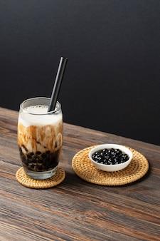 Composition avec un délicieux thé thaï