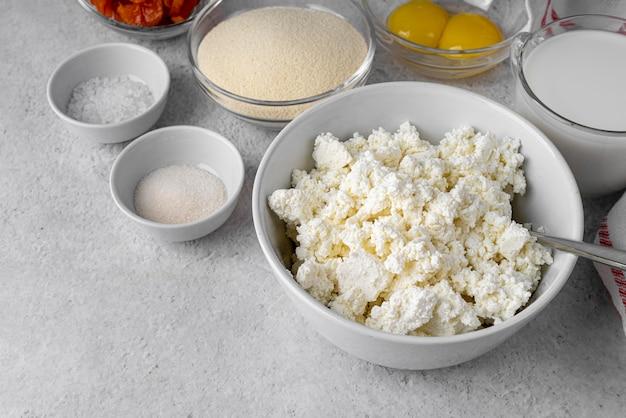 Composition de différents aliments et ingrédients