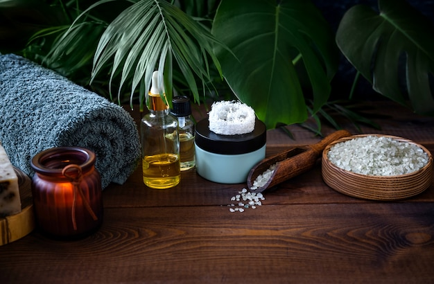 Composition de divers objets utilisés pour les cures thermales