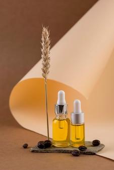 Composition du compte-gouttes d'huile de jojoba