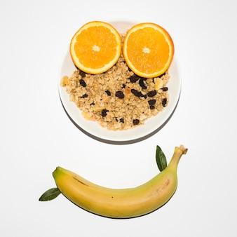 Composition du petit déjeuner sain