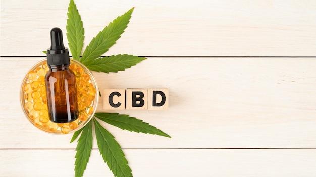 Composition du produit de cannabis biologique
