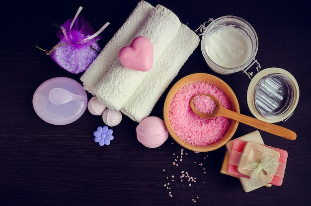 Composition du soin spa