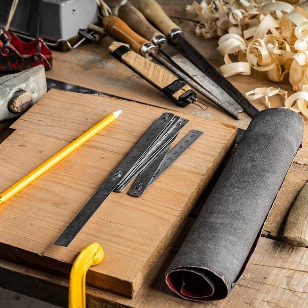 Composition d'éléments d'emplois artisanaux